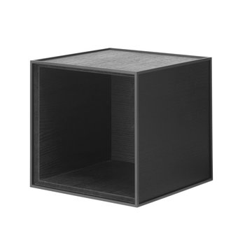 By Lassen Frame 28 box, black stained ash