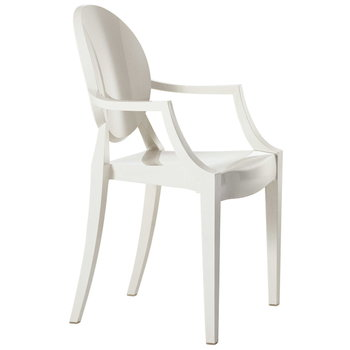 Kartell Louis Ghost chair, white
