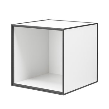 By Lassen Frame 35 box, white