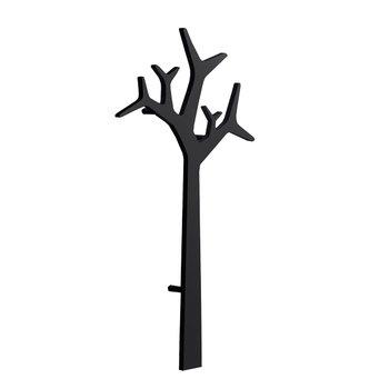 Swedese Tree wall coatrack 134 cm, black