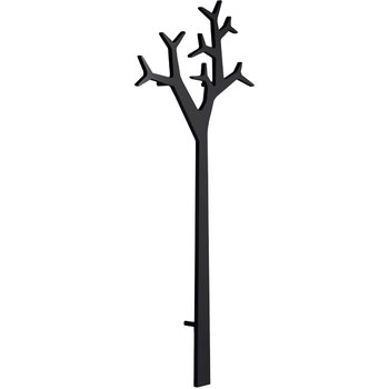 Swedese Tree wall coatrack 194 cm, black
