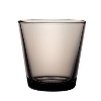 Iittala Bicchiere Kartio 21 cl, sabbia, 2 pz