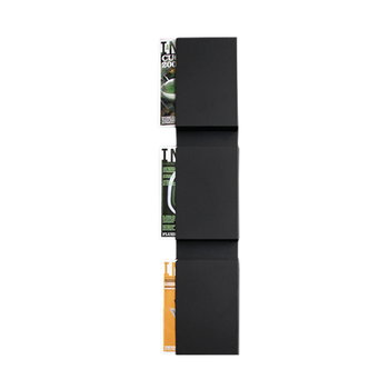 Inno Wall Case Magazine Holder Black Finnish Design Shop