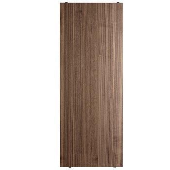 String String shelf 78 x 30 cm, 3-pack, walnut