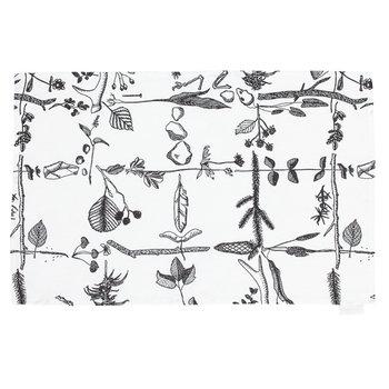 Saana ja Olli Myrskyn jälkeen tea towel, white