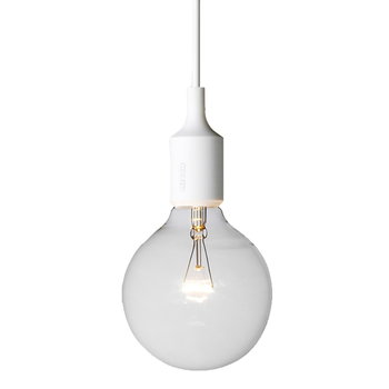 Muuto E27 socket lamp, white