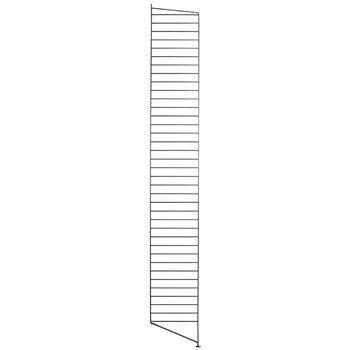 String String floor panel 200 x 30 cm, 2 pack, black