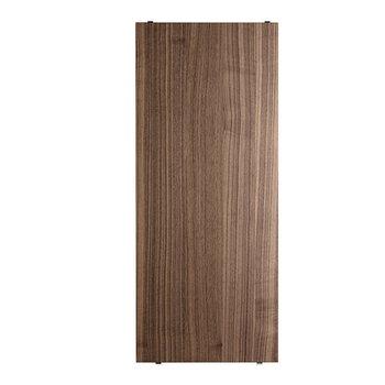 String String shelf 58 x 30 cm, 3-pack, walnut