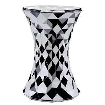 Kartell Stone stool, chrome