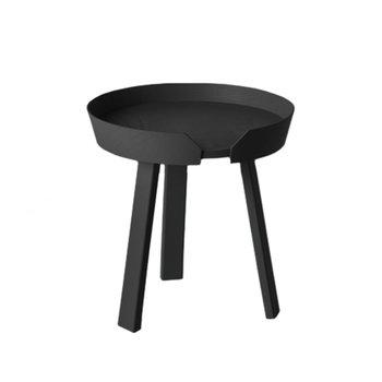 Muuto Around pöytä pieni, musta