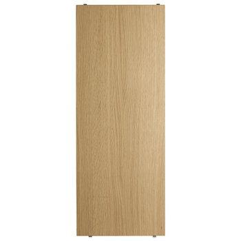 String String shelf 78 x 30 cm, 3-pack, oak