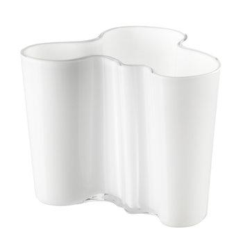 Iittala Vaso Aalto 120 mm, bianco