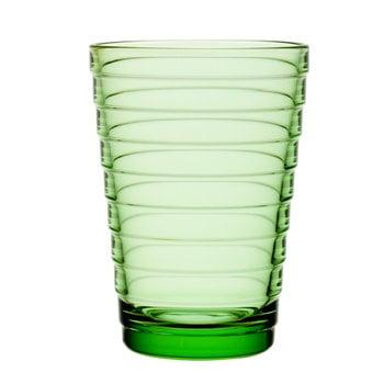 Iittala Aino Aalto tumbler 33 cl, apple green, set of 2