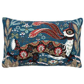 Klaus Haapaniemi Running Hare cushion cover, linen