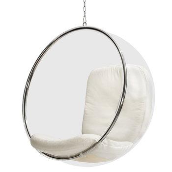 Eero Aarnio Originals Kupla tuoli, valkoinen