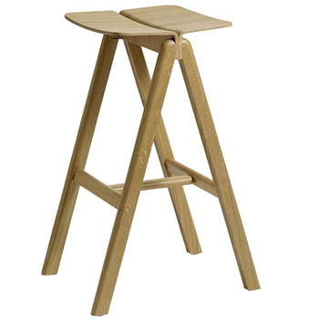 Hay Copenhague bar stool, matt lacquered oak