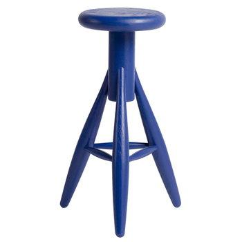 Artek Rocket bar stool, moody blue