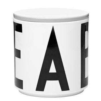 Design Letters Arne Jacobsen multi jar, grey cap