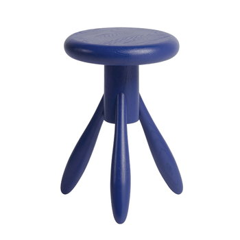 Artek Baby Rocket stool, moody blue