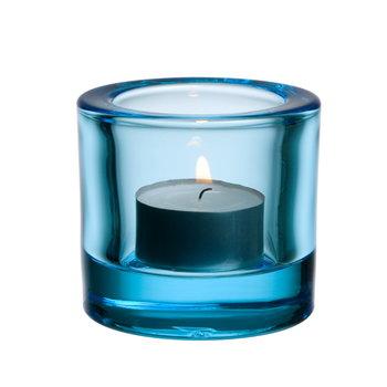 Iittala Kivi kynttilälyhty, vaaleansininen