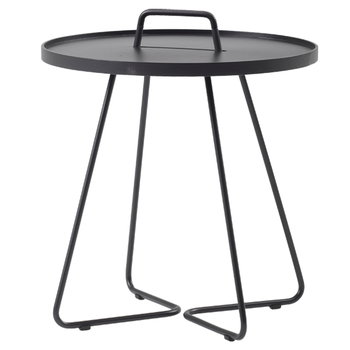 Cane-line On-The-Move table, large, black