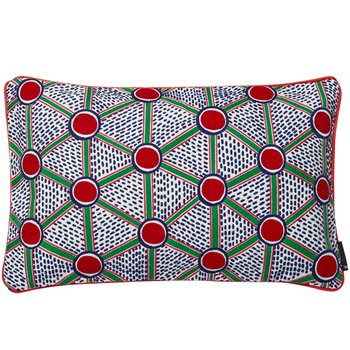 Hay Broidered cushion 57 x 35 cm, Cells
