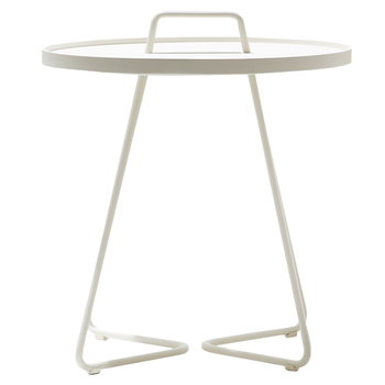 Cane-line On-The-Move table, large, white