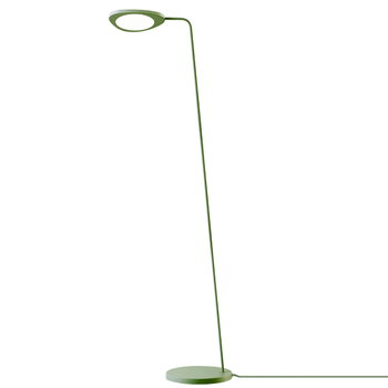 Muuto Leaf floor lamp, green