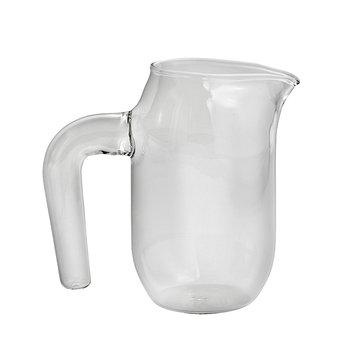 Hay Jug with handle, S, clear