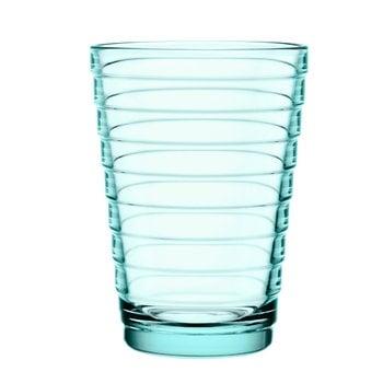 Iittala Aino Aalto juomalasi 33 cl, vedenvihreä, 2 kpl