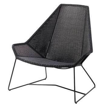 Cane-line Breeze highback chair, black