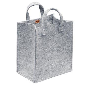 Iittala Meno home bag medium, grey felt