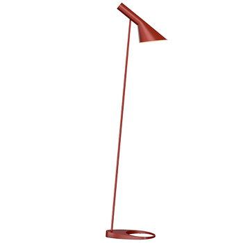Louis Poulsen AJ floor lamp, rust
