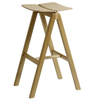 Hay Copenhague barstool, lacquered oak