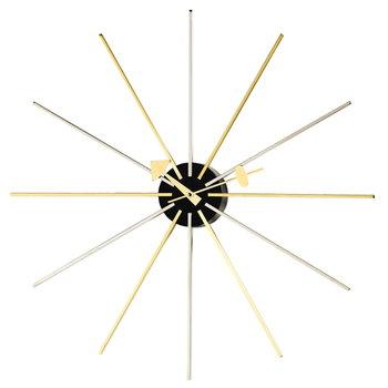 Vitra Star Clock kello, messinki