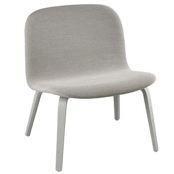 Muuto Visu lounge chair, upholstered, grey