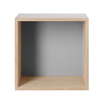 Muuto Stacked shelf module medium, ash/grey