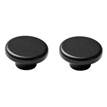Menu Knobs hooks 2-pack, black
