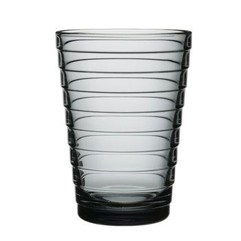 Iittala Bicchiere Aino Aalto 33 cl, grigio, 2 pz