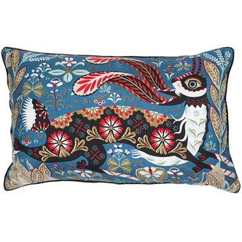 Klaus Haapaniemi Running Hare cushion cover, silk