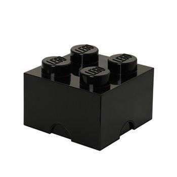 Room Copenhagen Lego Storage Brick 4, black