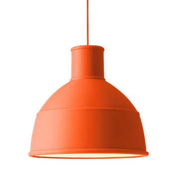 Muuto Unfold lamp, orange
