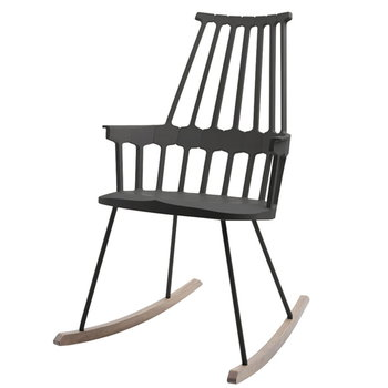 Kartell Comback Rocking chair, black