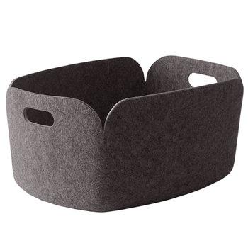 Muuto Restore storage basket, brown grey