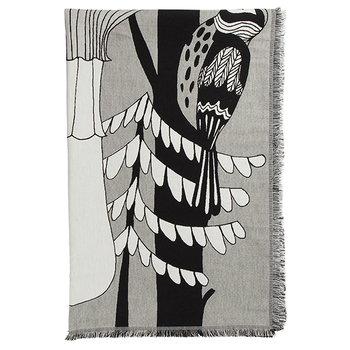 Marimekko Coperta Veljekset, nero-bianco