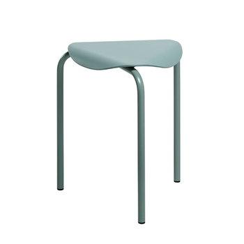 Artek Lukki stool, sage green lacquered