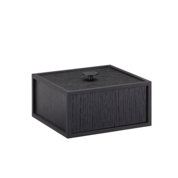 By Lassen Frame 14 laatikko, mustaksi petsattu saarni