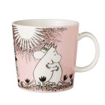 Arabia Moomin mug Love, pink