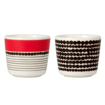 Marimekko Oiva - Siirtolapuutarha egg cup, 2 pcs