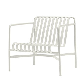 Hay Palissade lounging chair, low, cream white